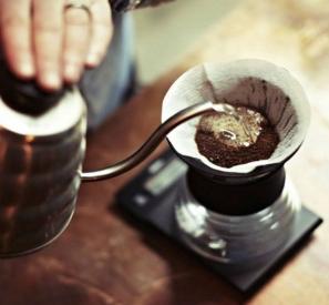 Блуминг как этап заваривания кофе