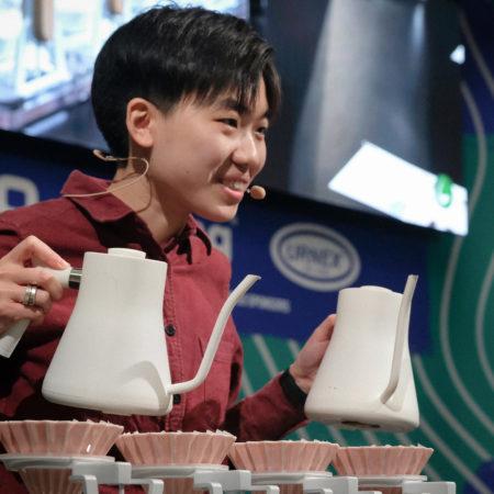 Рецепт кофе от чемпионки мира по Brewers cup 2019 — Du Jianing!