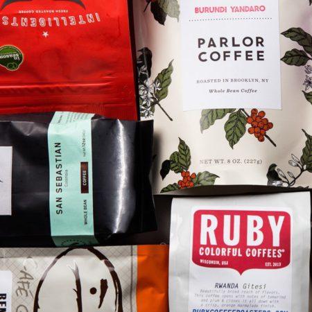 Упаковка кофейного зерна