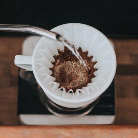 Приготовление кофе в пуроверах